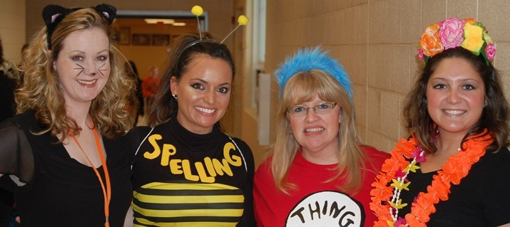 4th & 5th Grade Teachers on Halloween