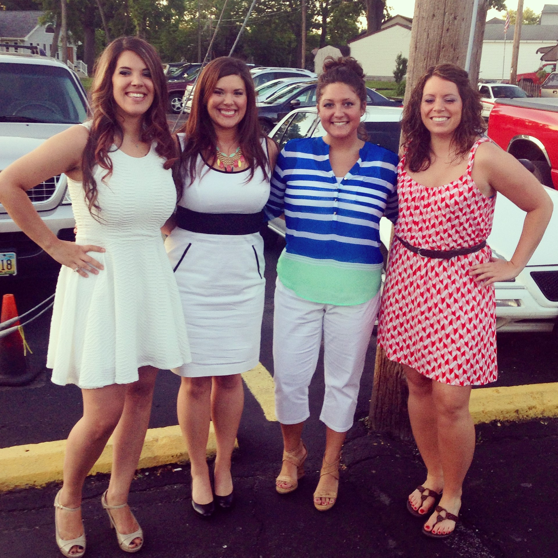 Here we are all grown up.  My best friends, Brittney, Taylor & Ashlee.