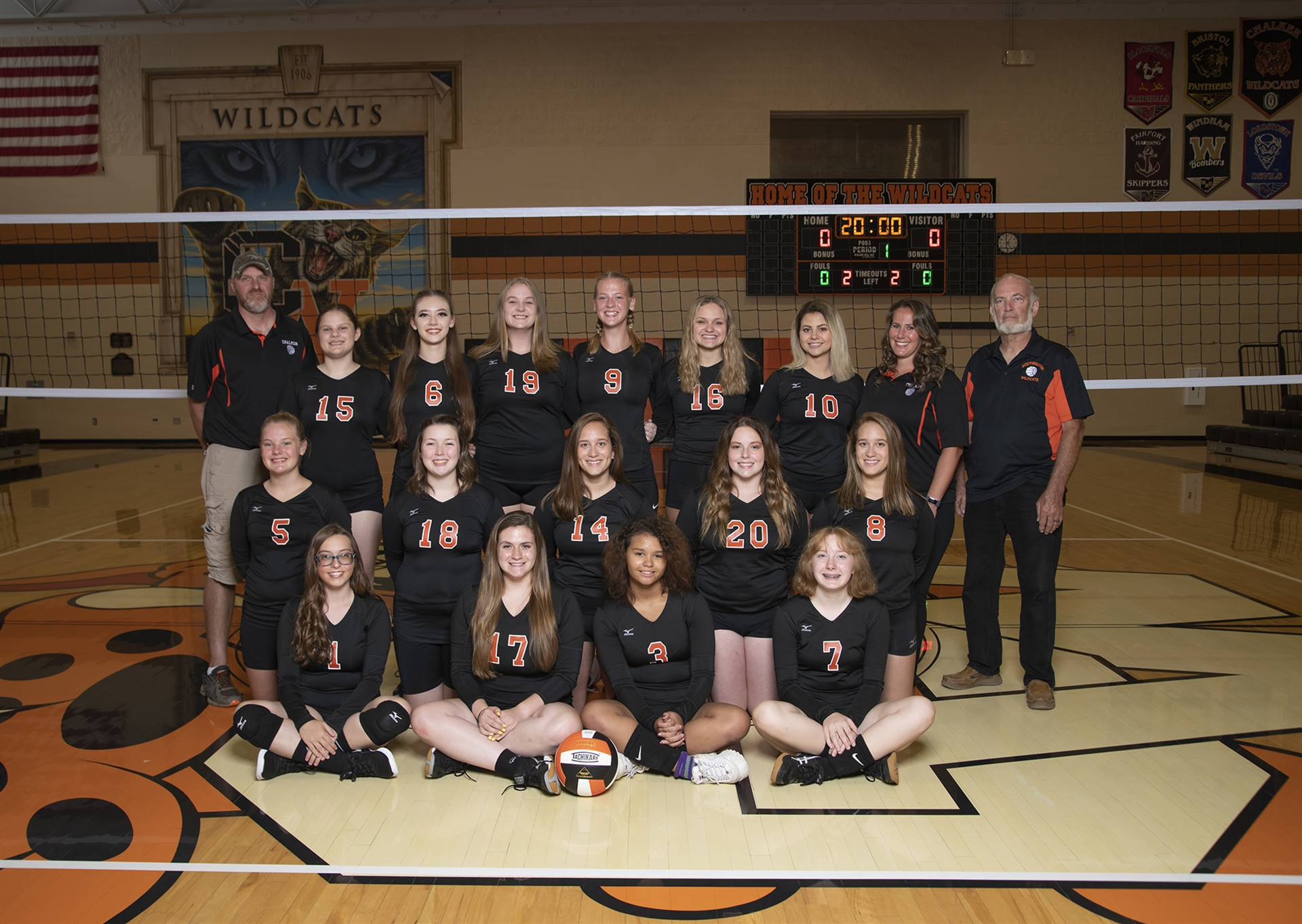 High School Volleyball Team